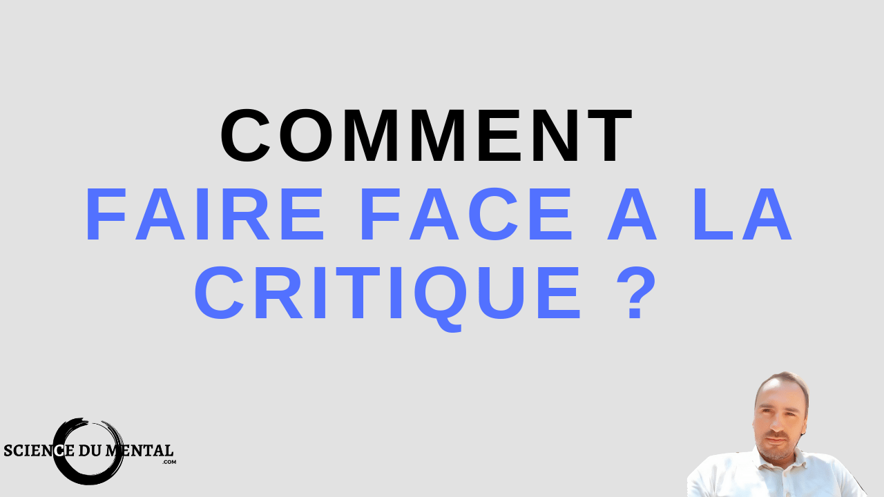 comment faire face à la critique